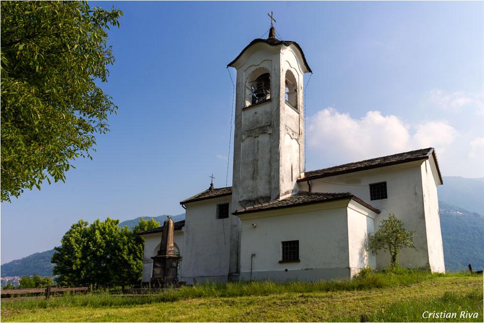 Anello dei pizzi di Parlasco: chiesta di Sant'Antonio in Parlasco