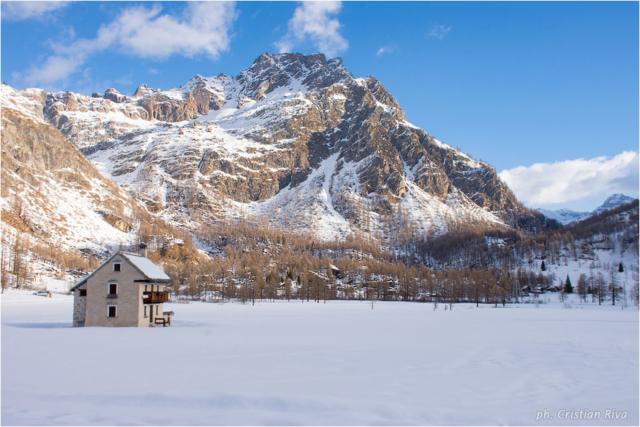 Ciaspolata sul Monte Cazzola: pianoro del Devero