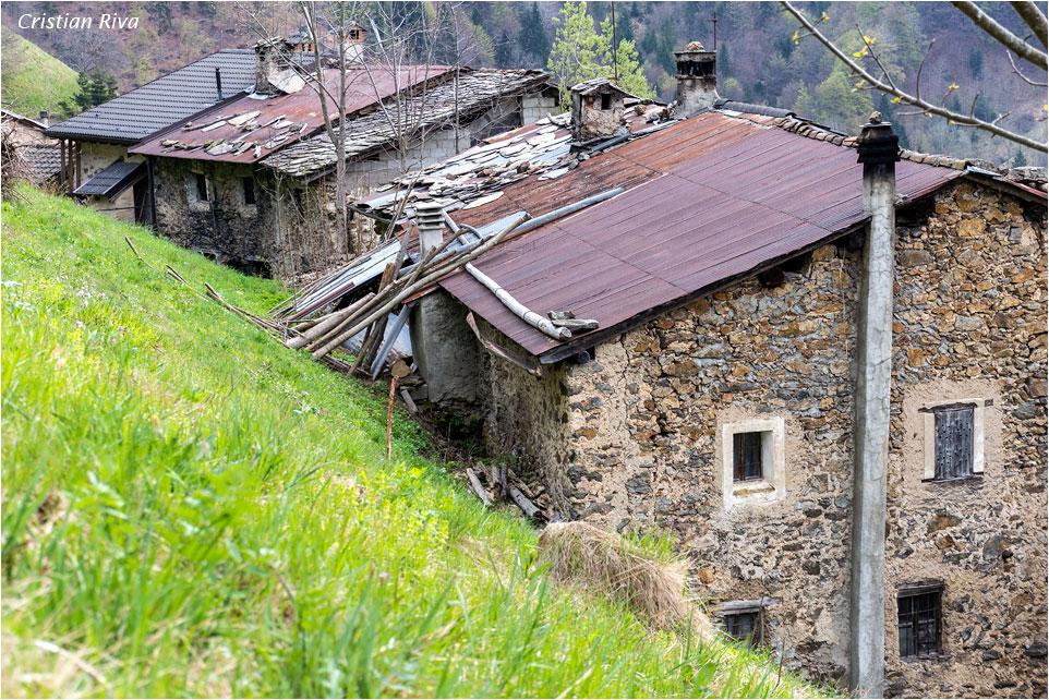 Monte Pigolota: frazione Cantello