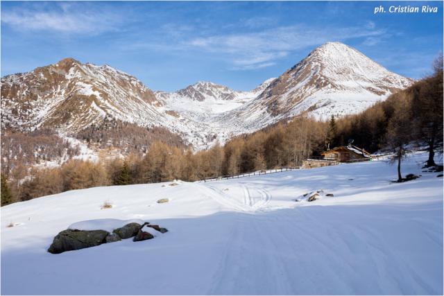 Ciaspolata sul Monte Pagano: panorama camuno