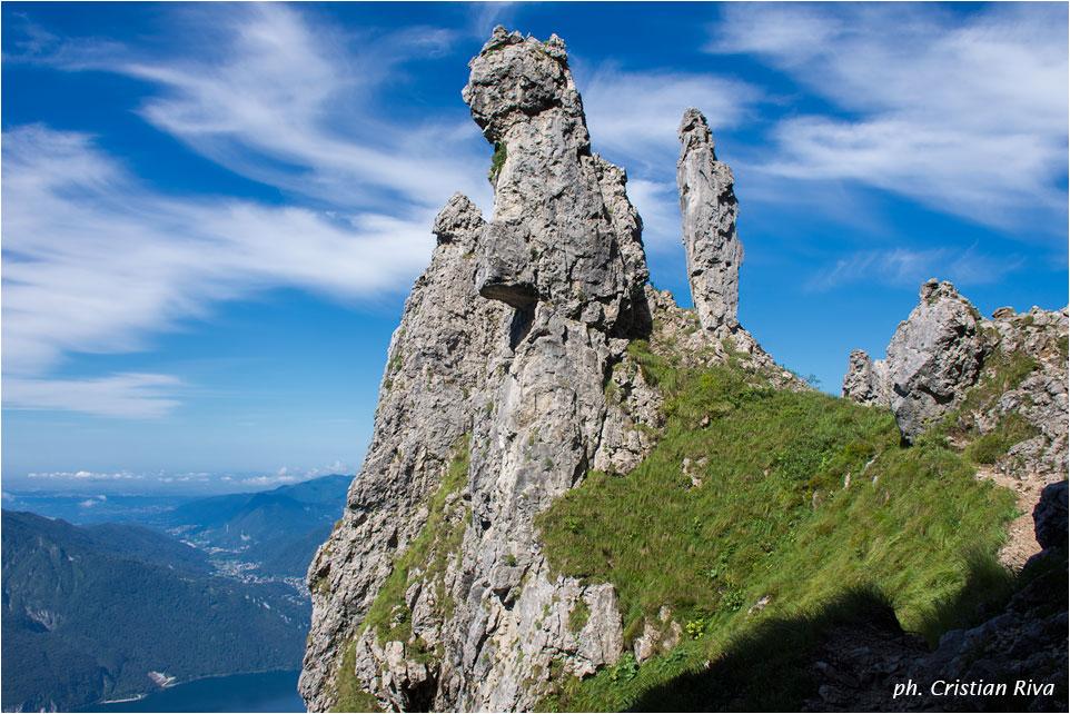 Nel magico mondo della Grignetta: il mondo di guglie e pinnacoli