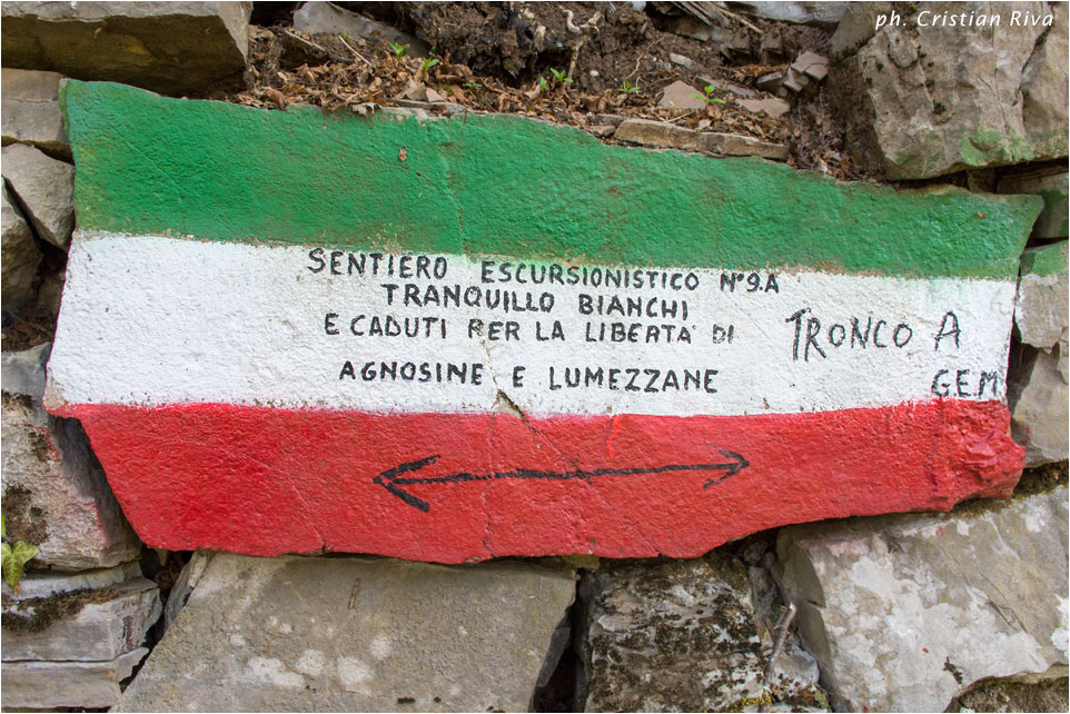 Sentiero partigiano Tranquilllo Bianchi