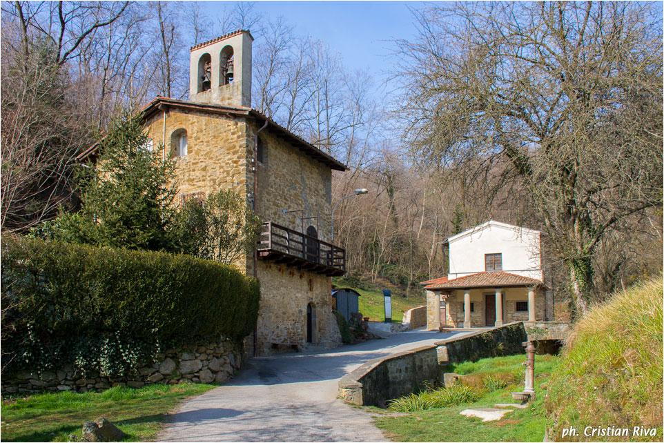 Monte Canto: chiesetta delle Caneve