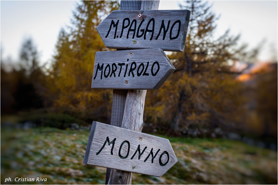 Anello del Monte Pagano: indicazioni