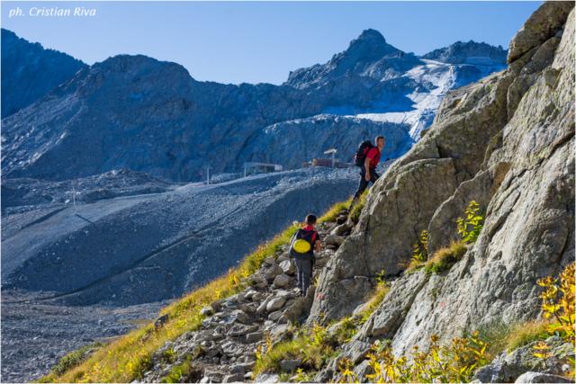 Sentiero dei Fiori: escursionisti