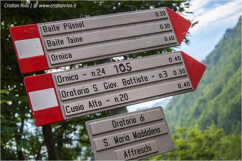 Pizzo di Cusio e Monte Disner: indicazioni