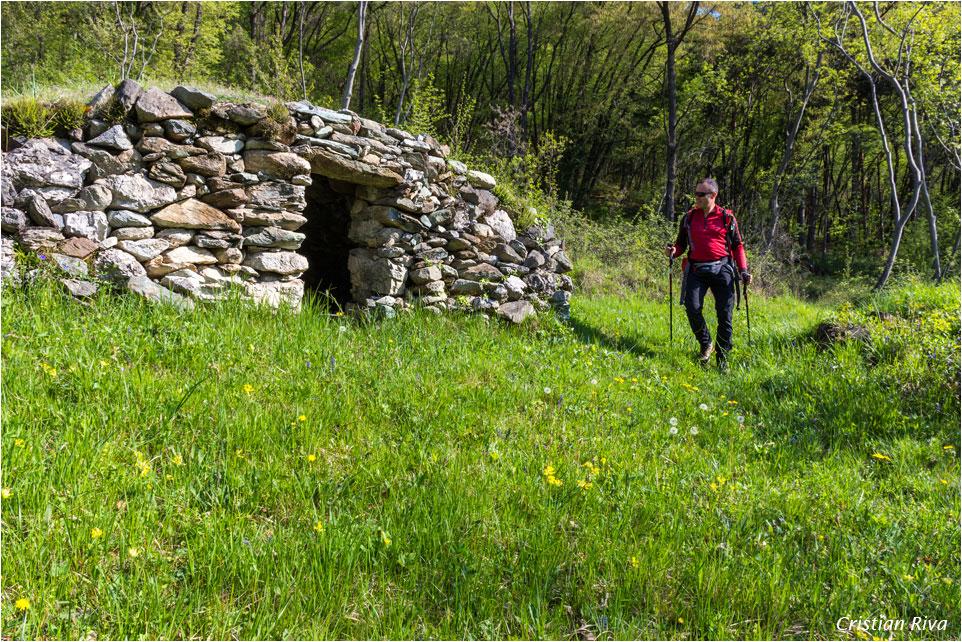 Monte Moregallo via Preguda: casotta