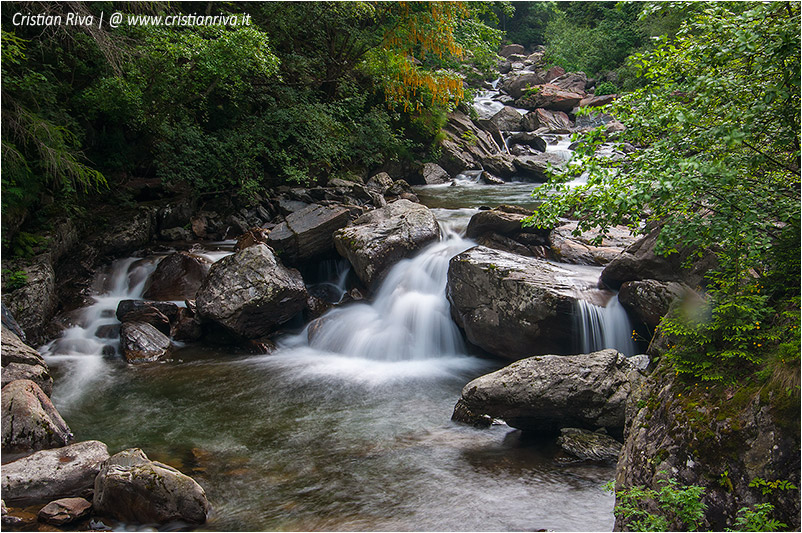 Sentiero estivo del Calvi: torrente Brembo