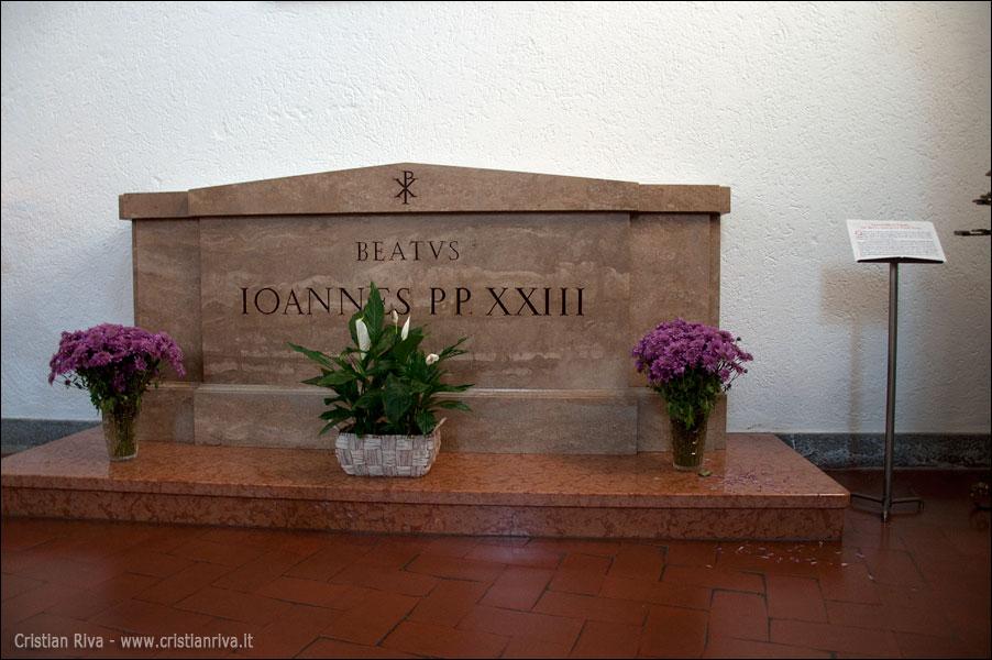 Sentiero Papa Giovanni XXIII: chiesa Santa Maria in Brusicco