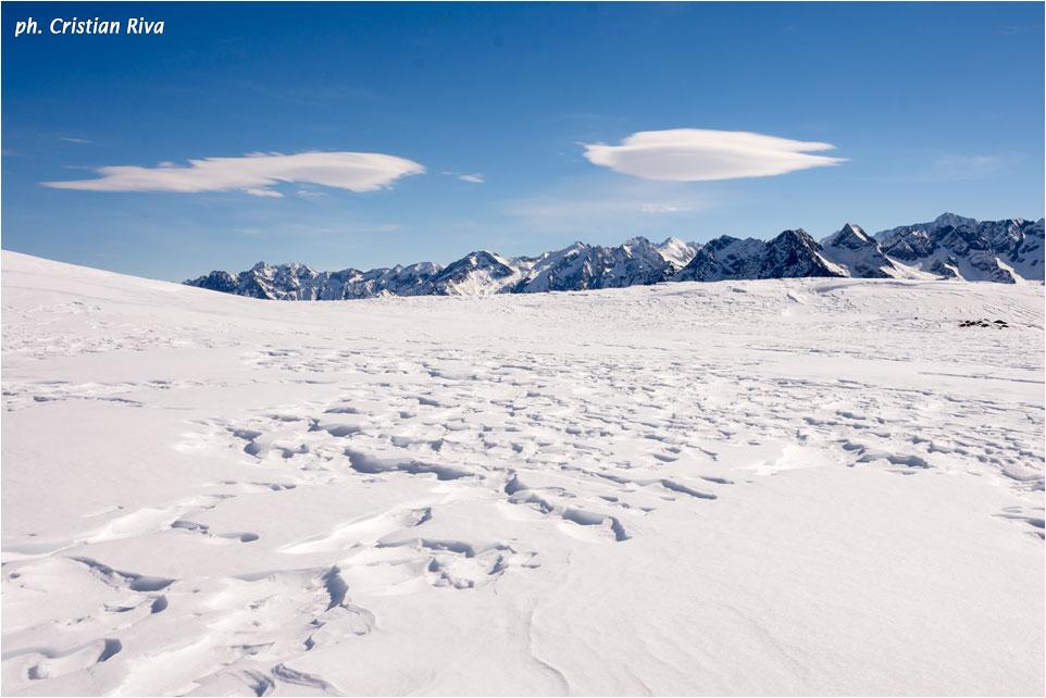 Ciaspolata sul Monte Pagano: trama nella neve