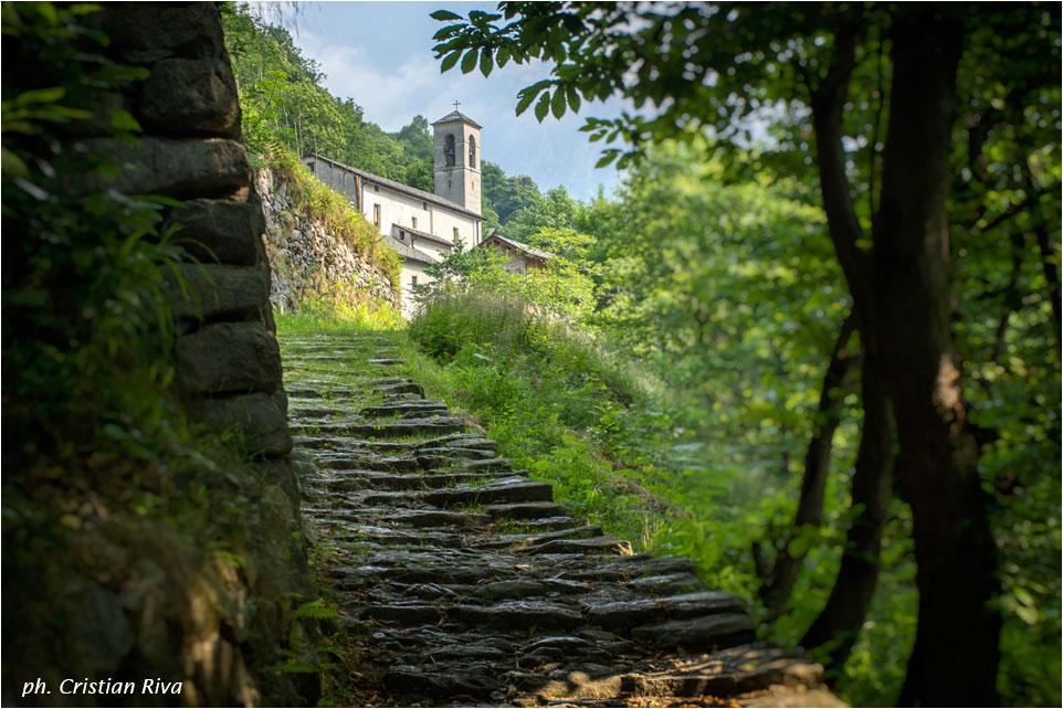 Val Codera - Anello di San Giorgio: parrocchia di Codera