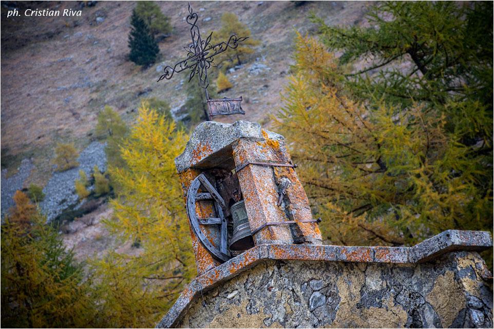 Val Grande di Vezza d'Oglio: cappella di Caret