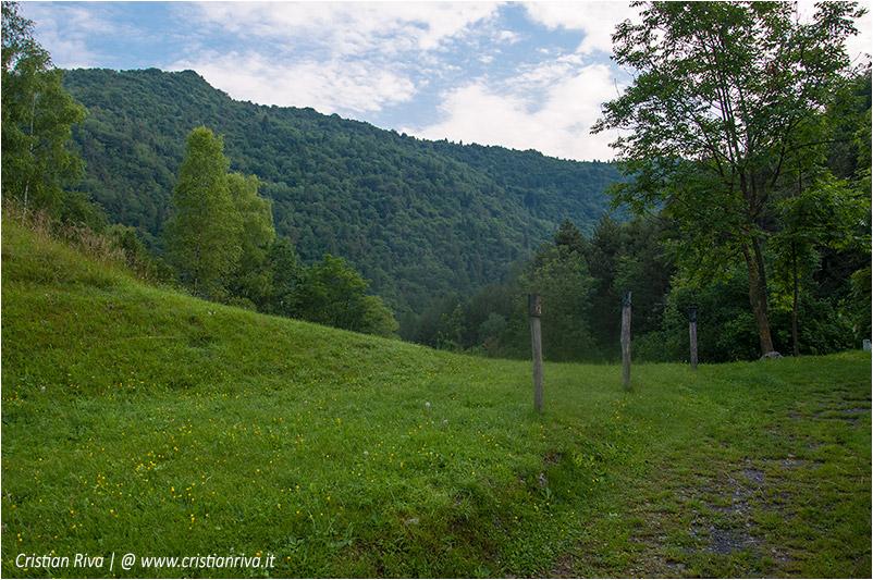 Anello di Cima Parè: verso il monte Cimiero