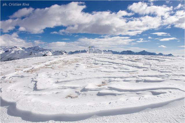 Ciaspolata sul Monte Cazzola: ad un passo dal paradiso