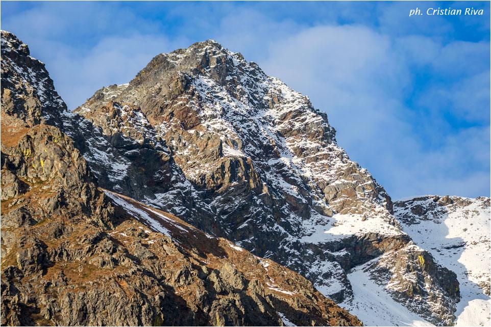 Val Grande di Vezza d'Oglio: cime innevate