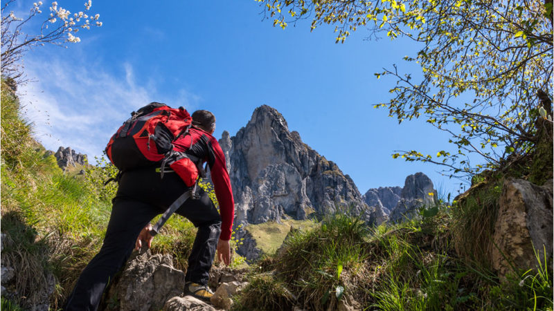 Rifugio Rosalba dal sentiero delle Foppe