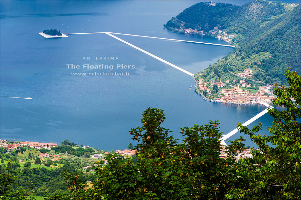 The Floating Piers - Anteprima