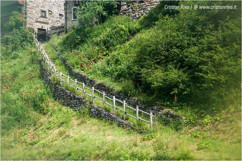 Sentiero estivo del Calvi: frazione Pagliari