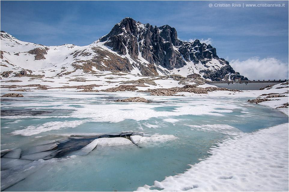 Lago della Vacca, il disgelo