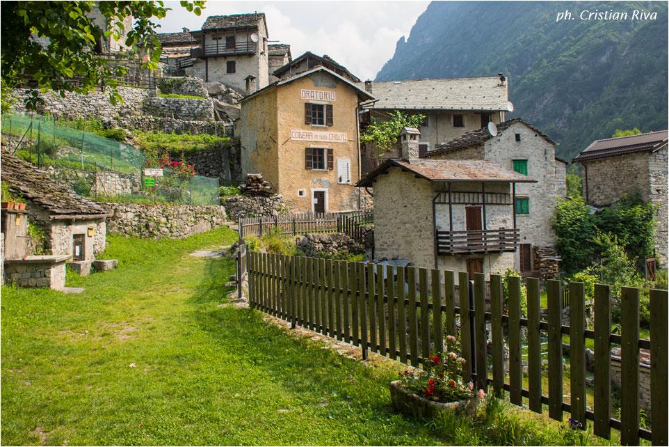 Val Codera - Anello di San Giorgio: Codera