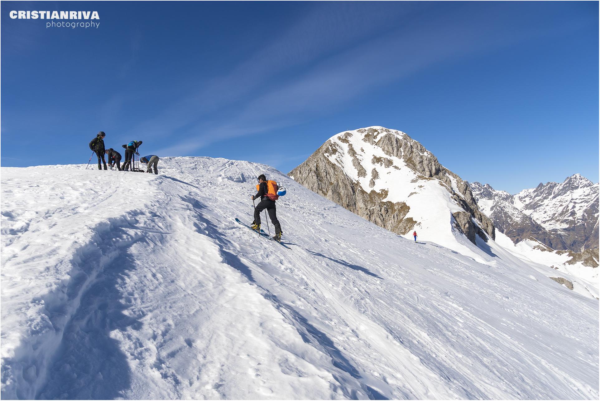 Anello invernale sul monte Ferrantino