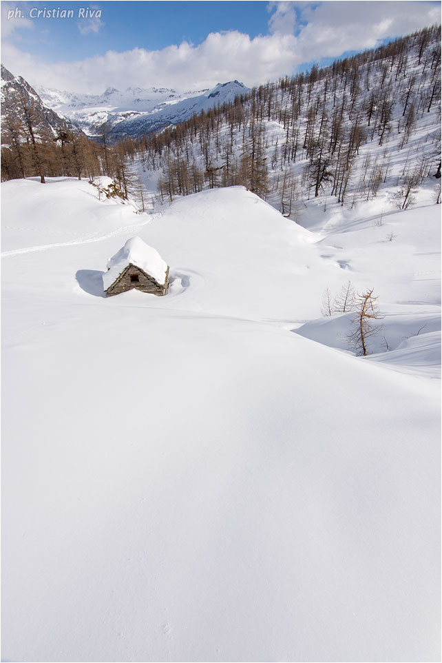 Ciaspolata sul Monte Cazzola: Curt du Vel