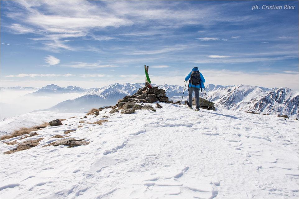 Ciaspolata sul Monte Pagano: in vetta al monte Pagano