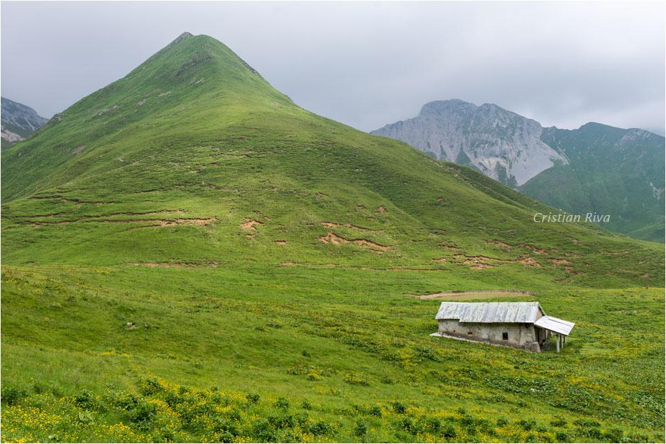 Baita Camplano: cima Foppazzi e Monte Grem