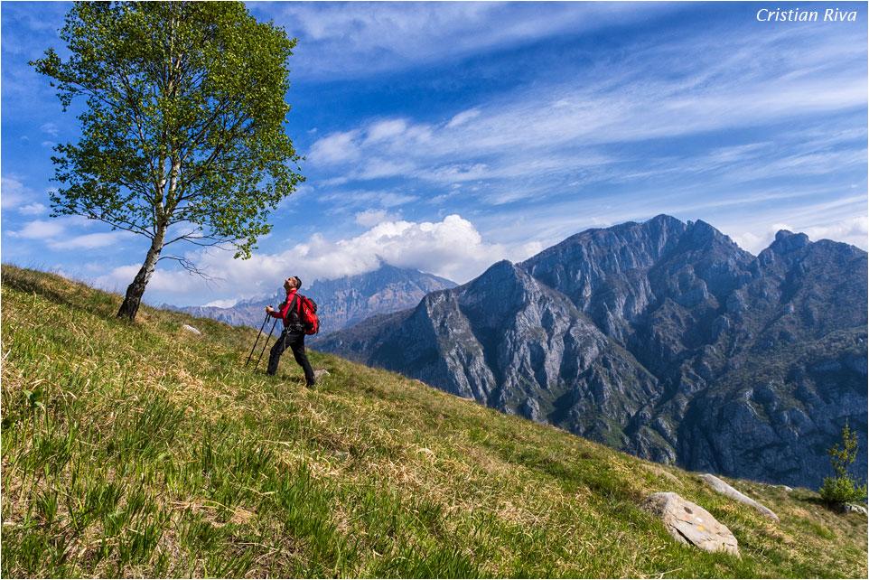 Monte Moregallo via Preguda: salendo verso il Moregallo