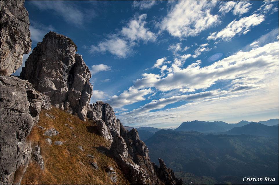 Monte Cancervo da Pianca: nuvole