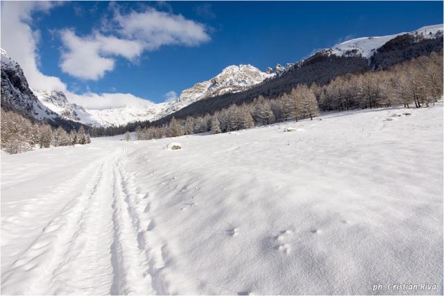 Ciaspolata in Val Canè: immensa vallata