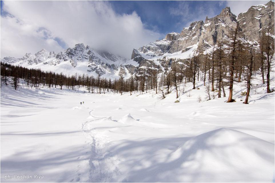 Ciaspolata sul Monte Cazzola: Lago Nero