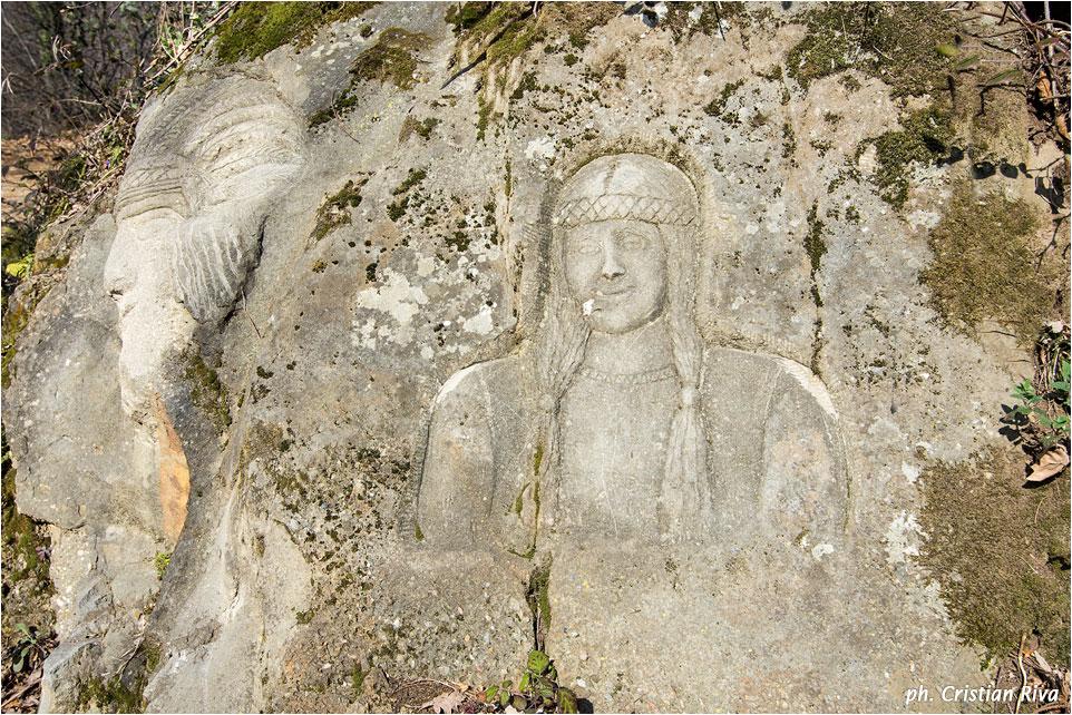 Monte Canto: scultura di Vanni Battaglia