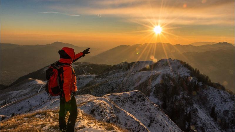 Escursione al tramonto sul Pizzo Formico