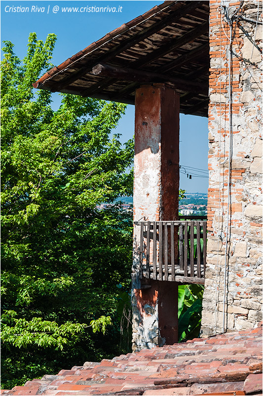 Bergamo, sentiero dei monasteri - Storiche case del Lavanderio