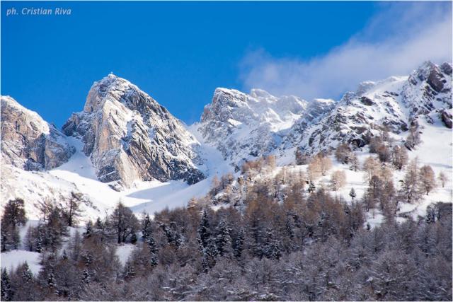 Ciaspolata in Val Canè: cime della Valcamonica