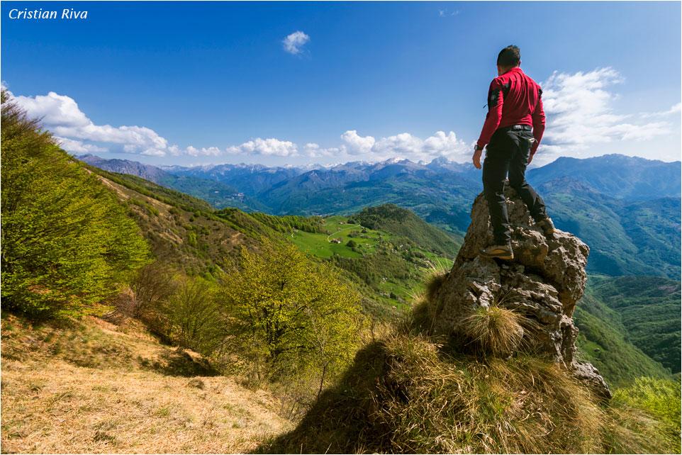 Monte Foldone con Pizzo Cerro e Castello Regina