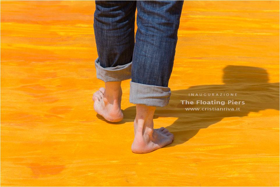 The Floating Piers – Inaugurazione