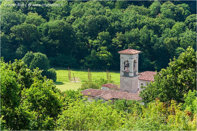 Bergamo, sentiero dei monasteri - Monastero di Astino