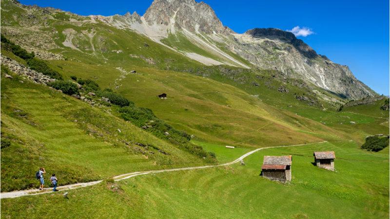 Grevasalvas e il villaggio di Heidi