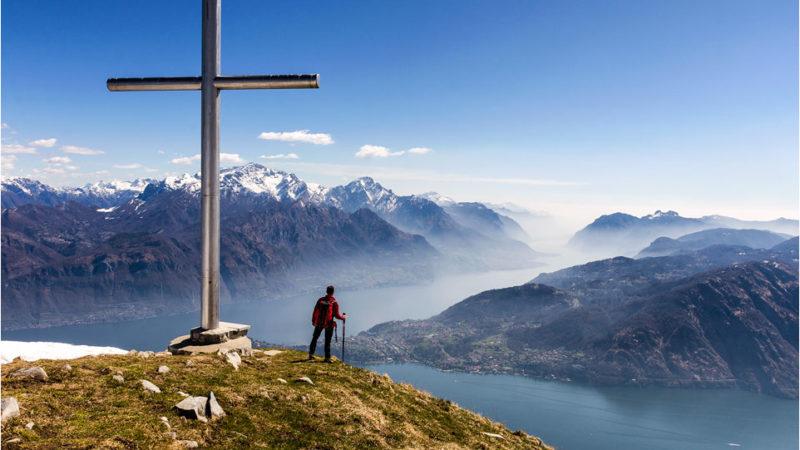 Monte Crocione da Croce di Menaggio