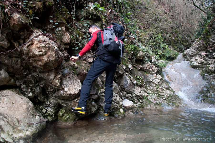 Monticelli Brusati - Sentiero delle cascate