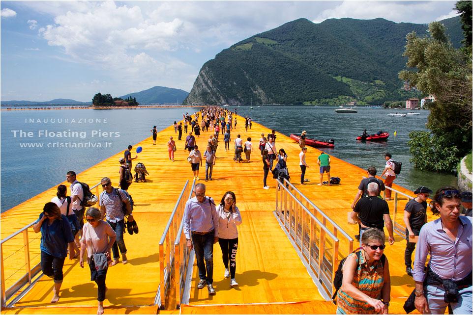 The Floating Piers - Inaugurazione