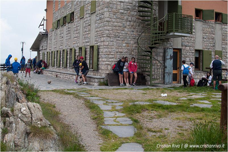 Sentiero estivo del Calvi: il rifugio Calvi