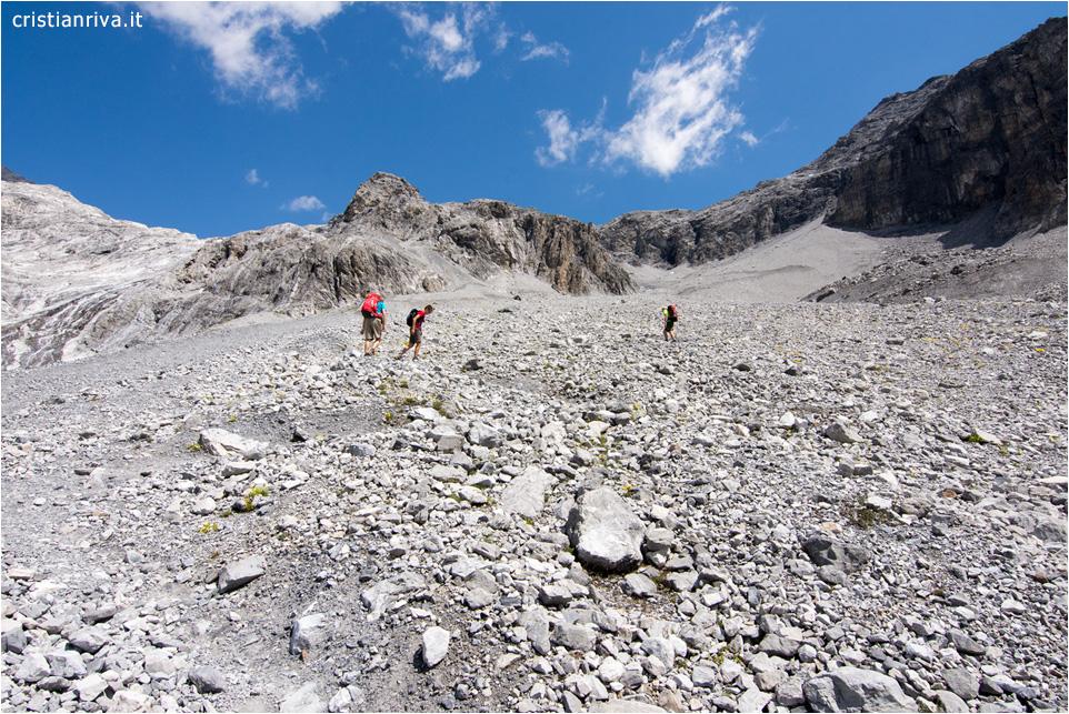 Verso il rifugio Quinto Alpini