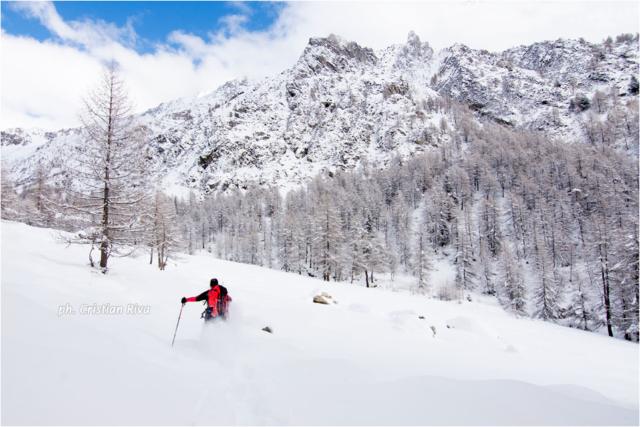 Ciaspolata in Val Canè: correndo nella neve