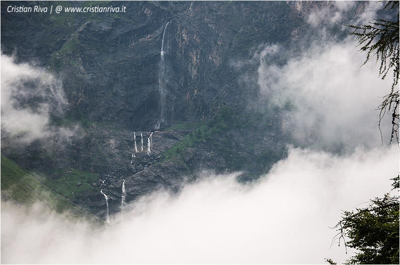 Diavolo della Malgina: cascate del Serio