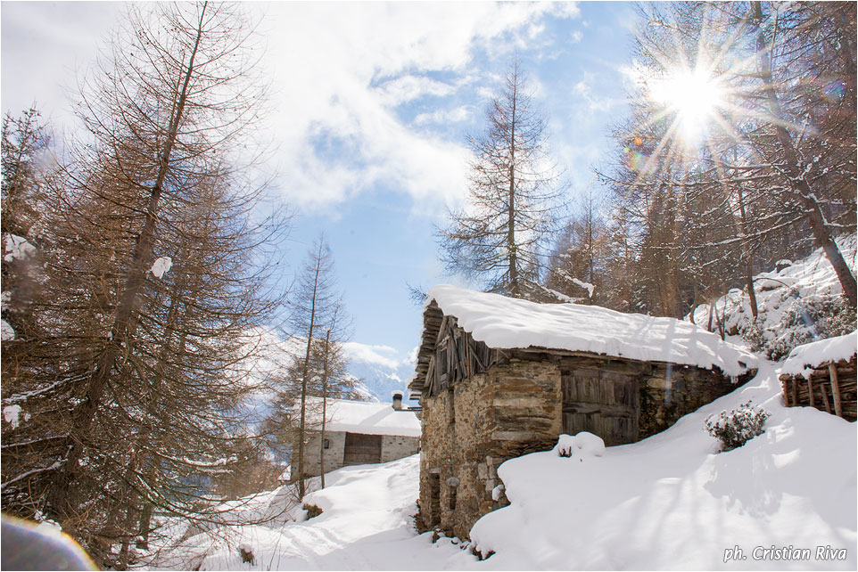Ciaspolata in Val Canè: Case di Ponte