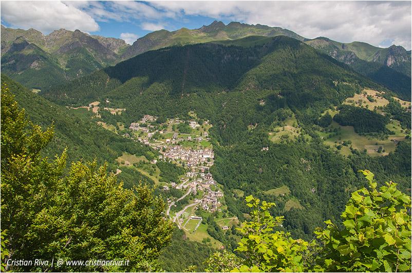 Pizzo di Cusio e Monte Disner: panorama