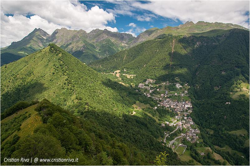 Pizzo di Cusio e Monte Disner: Cusio e le cime orobiche
